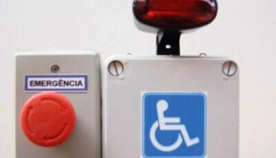 Nova lei determina sistema de emergência em sanitários de deficientes