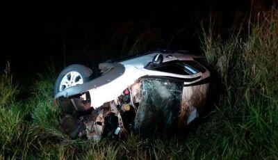 Colisão entre dois veículos mata os dois condutores entre Itaporã ao distrito de Carumbé