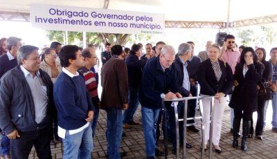 Geraldo integra comitiva de Reinaldo  em Anaurilândia, Amambai e Batayporã