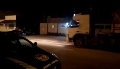 Em Bonito, Guarda Municipal recupera caminhão que abasteceu e não pagou