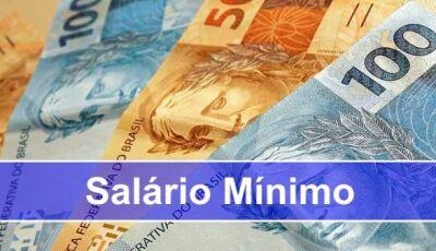 Estimativa para salário mínimo em 2019 é de R$ 998