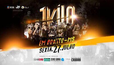 Bonito (MS): Estação Caxara terá Grupo 1Kilo, referência nacional em Rap e Hip-Hop durante a FIB