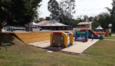 Alô criançada, Centro de Múltiplo Uso recebe brinquedos e muita diversão em Bonito (MS)