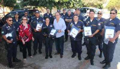 Prefeitura entrega novos uniformes a Guarda Municipal em Bonito (MS)