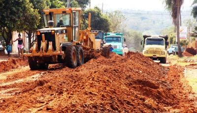 BONITO: Asfalto da Cândido Luiz Braga continua e obras no bairro somam de mais de R$ 2.5 milhões