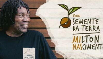 Milton Nascimento cantará músicas antigas e grandes sucessos neste sábado na Praça em Bonito (MS)