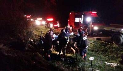 TRAGÉDIA NAS ESTRADAS: cinco pessoas da mesma família morrem em acidente
