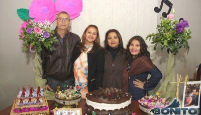 Veja as FOTOS do aniversário de Márcia 50 Anos e Antenor 60 Anos em Bonito (MS)