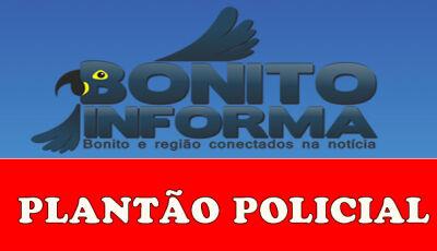 Polícia coíbe jovem de 20 anos, usando droga na praça central em Bonito (MS)