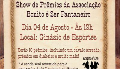 Associação organiza Show de Prêmios para realização de cavalgada beneficente em Bonito