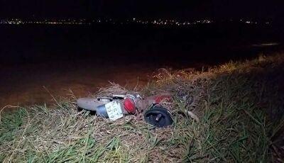 Acidente mata motociclista que tentava atravessar rodovia em Dourados