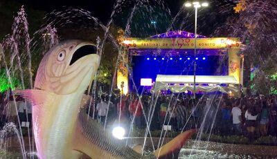 BONITO (MS): Em levantamento, 84% do público que passou pelo Festival de Inverno eram do MS