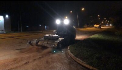 VÍDEO: Trabalhos de varrição mecanizada das ruas tem seu início em Bonito (MS)