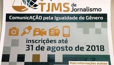Igualdade de Gênero é tema do 1º Prêmio de Jornalismo do TJMS