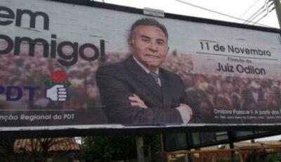Justiça Eleitoral multa Odilon em R$ 31 mil por propaganda fora da hora