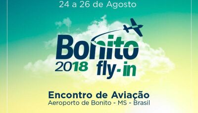 Encontro de Aviação 'Bonito Fly In' acontece este mês de agosto em Bonito (MS)