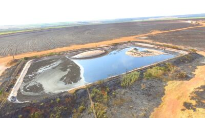 Usina sucroenergética é autuada em R$ 495 mil por incêndio em lavoura de cana sem autorização em MS