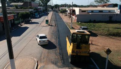 Governo do MS investe R$ 1,9 milhão na recuperação de ruas que estavam abandonadas em Miranda (MS)