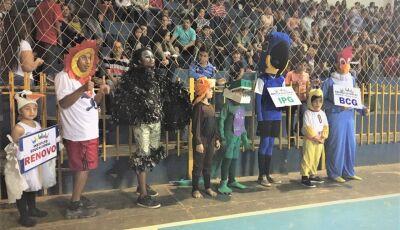 'Mascotes' fizeram os jogos escolares mais animados e divertidos em Bonito (MS)