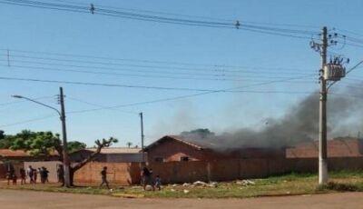 MARACAJU: Brincando com isqueiro, menino de 5 anos põe fogo em residência