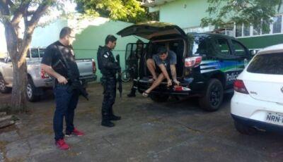 Polícia prende quadrilha que roubava caminhões e levava para o Paraguai