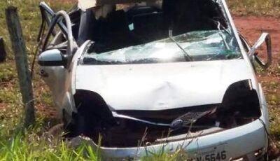 Professora de Educação Física morre em acidente entre Dois Irmãos e Sidrolândia