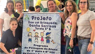 SEMEC implanta a 'Semana do Brincar', nas pré-escolas em Bonito