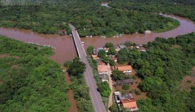 Em BONITO, Rio Miranda atinge nível de emergência e Imasul emite alerta a ribeirinhos