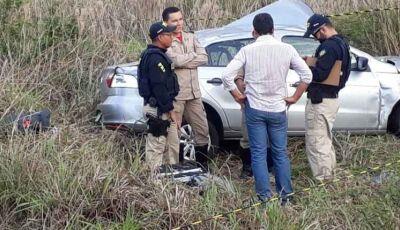 Empresário e filho de 1 ano que morreram em acidente, retornavam de Bonito (MS)
