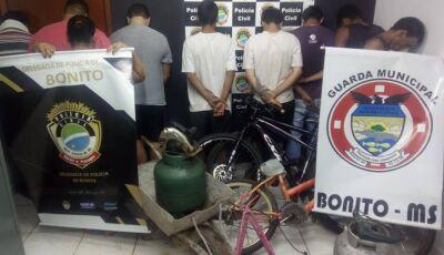 Operação entre Guarda Municipal e Polícia Civil resulta em arrastão contra bandidagem em Bonito