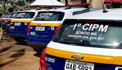 Bonito (MS) recebe viatura e Reinaldo anuncia aquisição de outras 50 para mais cidades do MS