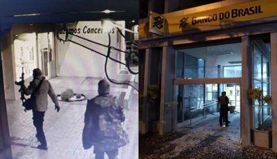 Bandidos levaram R$ 550 mil em arrombamento de agências de cidade do MS