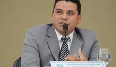 Pedrinho da Marambaia pede audiência pública vai debater situação dos rios de Bonito (MS)
