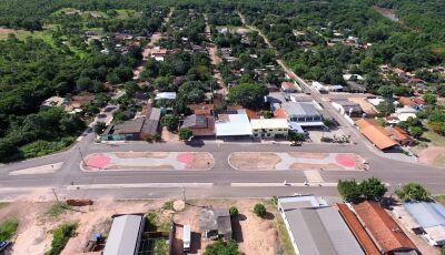 BONITO (MS): Prefeitura conclui praça no distrito Águas do Miranda