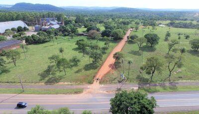 Obras revitaliza estrada que dá acesso ao Aquário Natural em Bonito (MS)
