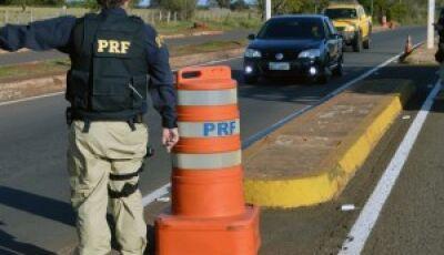 De quarta a domingo, PRF reforça fiscalização nas rodovias do Estado