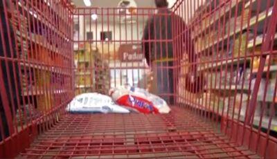 Briga por carrinho de compras em supermercado termina com homem perfurado por chave de carro em MS