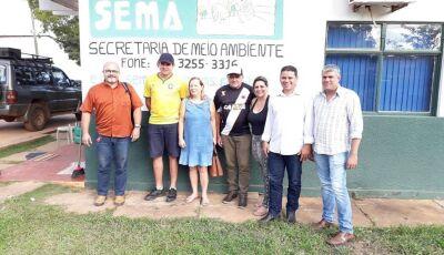 Vereadores reúnem com secretario e cobram melhorias no sistema de coleta de lixo em Bonito