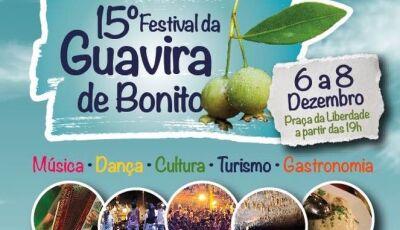Confira a programação dos shows do 15º Festival da Guavira de Bonito (MS)