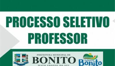 Prefeitura lança edital para professor suplente em Bonito (MS)
