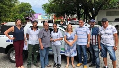 Odilson entrega veículo zero Km, agora ao Centro de Zoonoses em Bonito (MS)