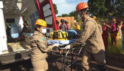 Criança de 12 anos morre no Hospital da Vida depois de ser atropelada em Dourados