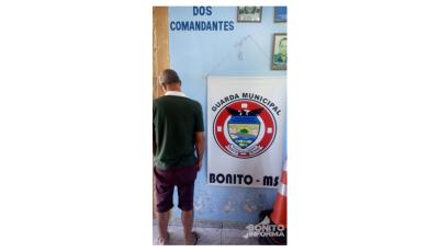 Guarda Municipal de Bonito prende condutor embriagado em flagrante