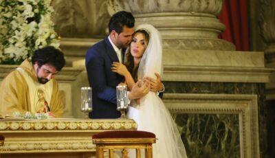 Casamento de Nicole Bahls tem polícia na igreja, convidados na delegacia e ladrão famoso descoberto