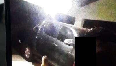 Em Bonito, criminosos tiraram até 'selfie' durante roubo de caminhonete e vendida no PY por R$ 7.500