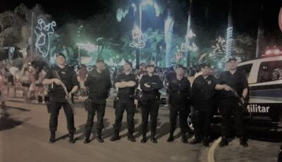Com duas tentativas de homicídio, PM faz mais de 1.200 ações durante operação boas festas em Bonito