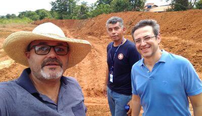 SEMA e MP vistoriam obras importantes na São Domingos e Boiadeira em Bonito (MS)