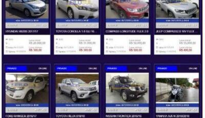 Site engana clientes e é proibido pela Justiça de leiloar veículos