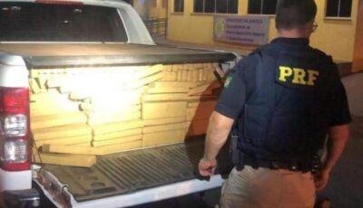 Traficantes e batedores são presos transportado 1,8 tonelada de maconha em Guia Lopes da Laguna