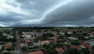 Defesa Civil emitiu alerta sobre chuvas intensas para este sábado e domingo em todo MS